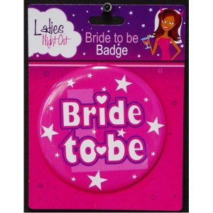 Bride to be Badge 1