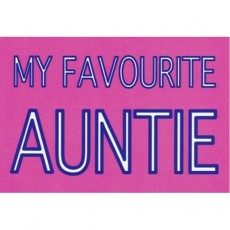 My Favourite Auntie