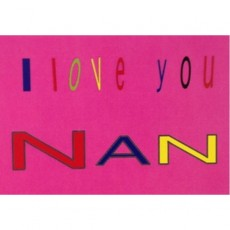 I Love You Nan