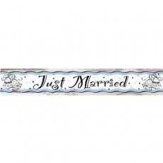 Banner Just Married 1