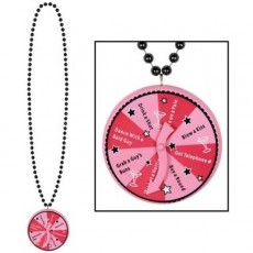 Necklace with Spinner Medallion 1