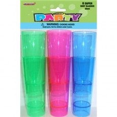 Super Shot Glasses Pack 6 1