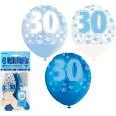 Balloons Blue 30 1