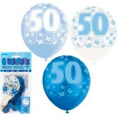 Balloons Blue 50 1