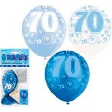 Balloons Blue 70 1