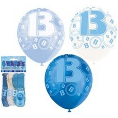 Balloons Blue 13 1