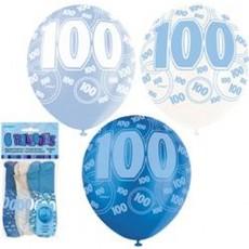Balloons Blue 100 1