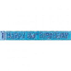 Banner Blue 40 1