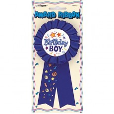 Award Ribbon Birthday Boy 1