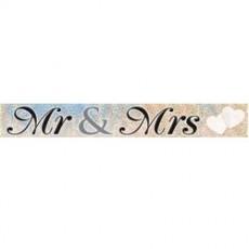 Banner Mr & Mrs  1